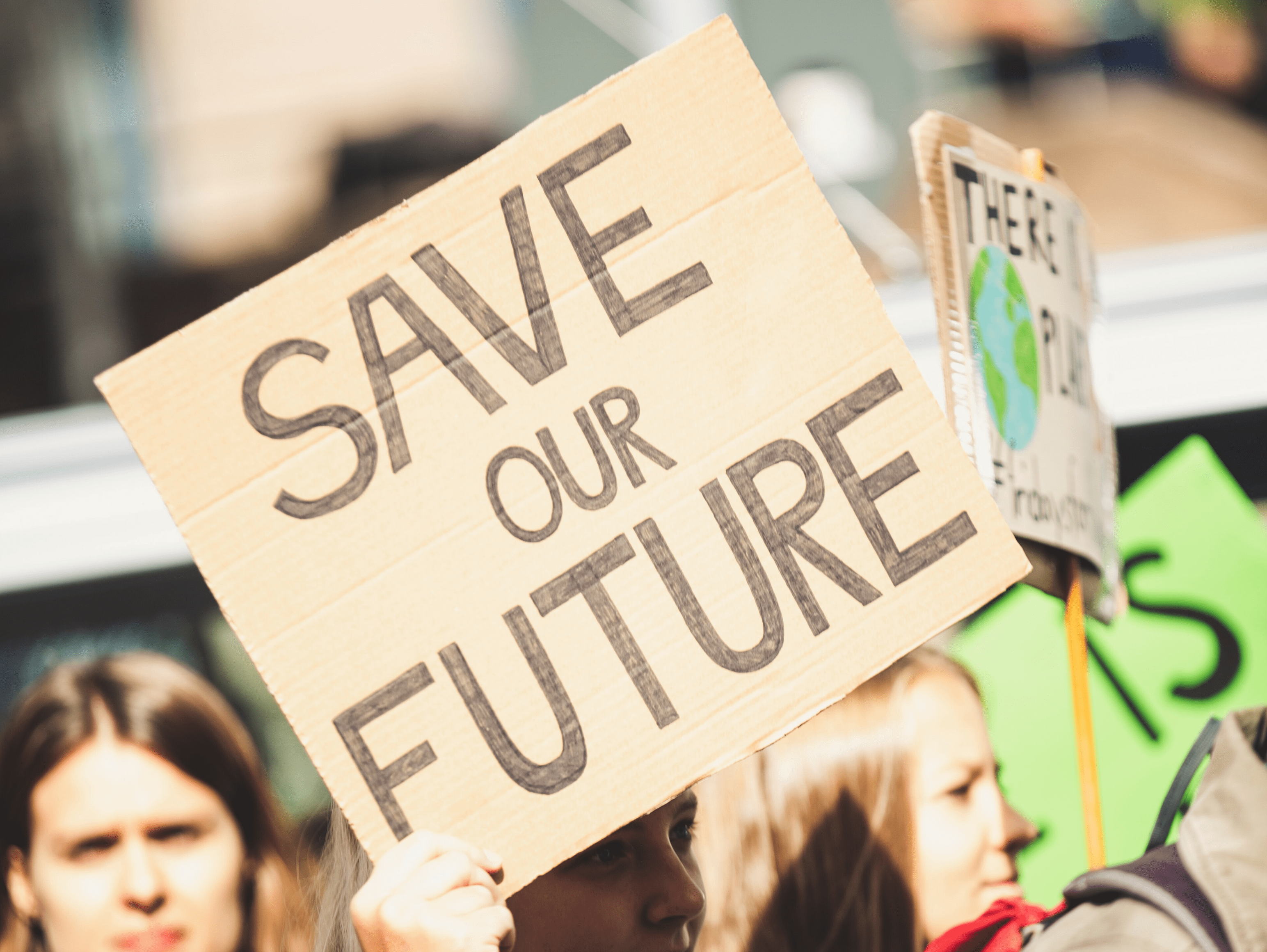 Save The Future Protest