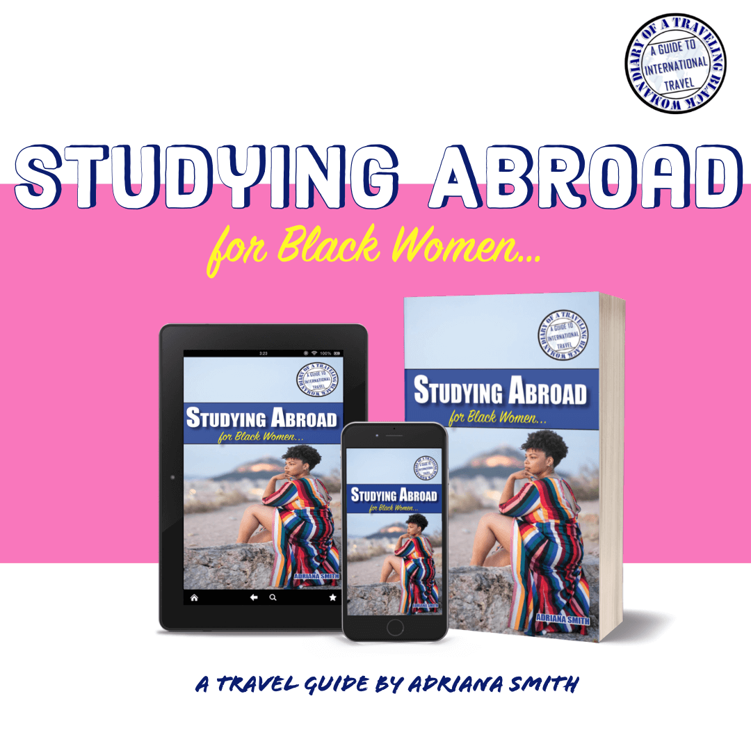 Study abroad book for black women